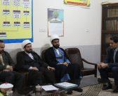 بازدید حجتالاسلام عرب از اتحادیه شهرستان شوشتر