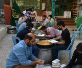توزیع ۱۵۰۰ پرس غذایی میان نیازمندان