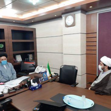 دیدار مسئول اتحادیه انجمن های اسلامی دانش آموزان با رییس سازمان فرهنگی اجتماعی شهرداری اهواز