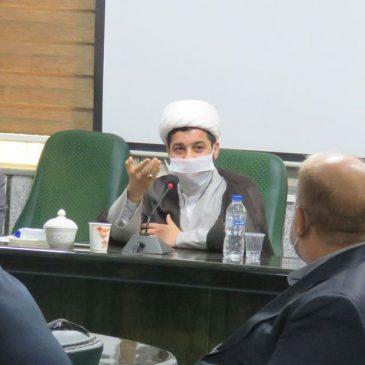 حضور حجت الاسلام عرب در جلسه کمیته همکاری حوزه های علمیه و آموزش و پرورش