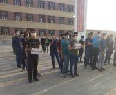 هویزه|برگزاری مراسم در محکومیت توهین علیه ساحت قدسی پیامبر اکرم(ص)