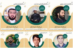 شرکت کادر و دانش آموزان انجمن های اسلامی خوزستان در پویش مردمی آجر به آجر
