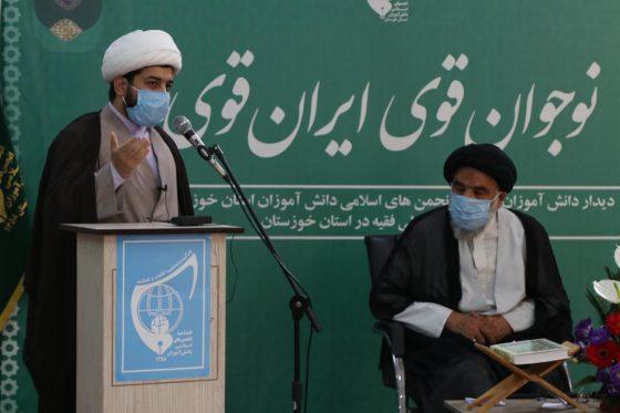 دیدار دانش آموزان انجمنی با نماینده ولی فقیه در استان و استاندار خوزستان بمناسبت ۱۳ آبان