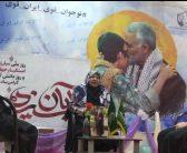 مادر شهیدان فرجوانی میهمان دختران انجمنی در روز ۱۳ آبان