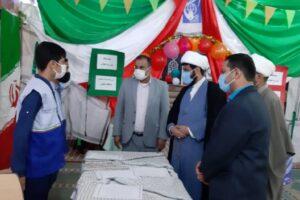 بازدید معاونت اتحادیه استان از نمایشگاه مدرسه انقلاب شهرستان کرخه