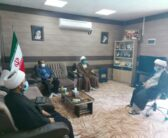 دیدار حجت الاسلام محمد عرب با معاون فرهنگی بنیاد شهید استان