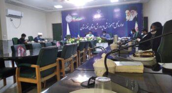 مراسم ملی افتتاحیه هیئت های اندیشه ورز دانش آموزی در دفتر مدیر کل آموزش  پرورش استان خوزستان برگزار شد.